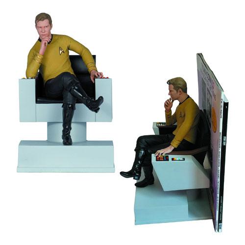 Star Trek The Original Series Captain Kirk Statue Bookend