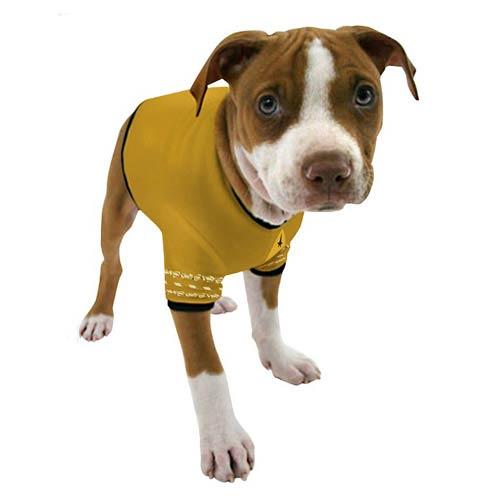 Star Trek The Original Series Captain Kirk Uniform Dog Shirt