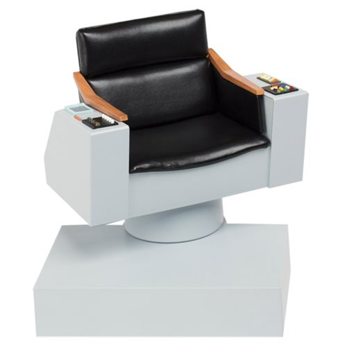 Star Trek The Original Series Captain's Chair 1 6 Scale Replica