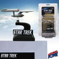 Star Trek The Original Series Enterprise Monitor Mate Bobble Ship