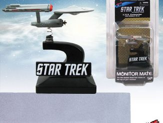 Star Trek The Original Series Enterprise Monitor Mate Bobble Ship