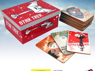 Star Trek The Original Series Fine Art Coasters Set of 40 Series 2