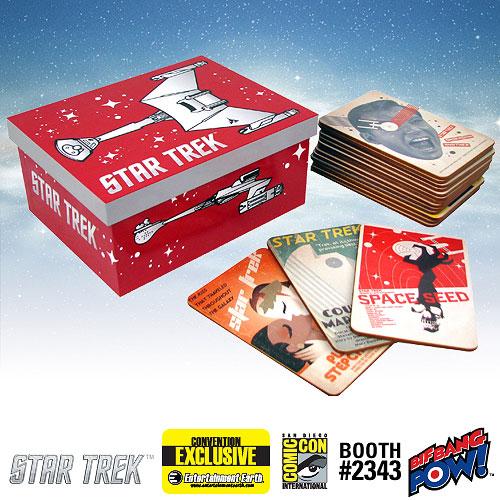 Star Trek The Original Series Fine Art Coasters Set of 40 Series 2