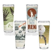 Star Trek The Original Series Fine Art Shot Glasses Set 5