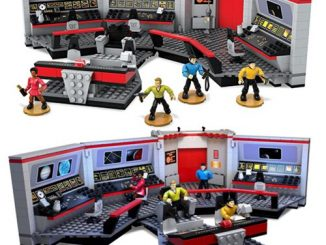 Star Trek The Original Series Mega Bloks U.S.S. Enterprise Bridge Playset