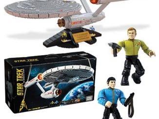 Star Trek The Original Series Mega Bloks U.S.S. Enterprise NCC-1701 Vehicle