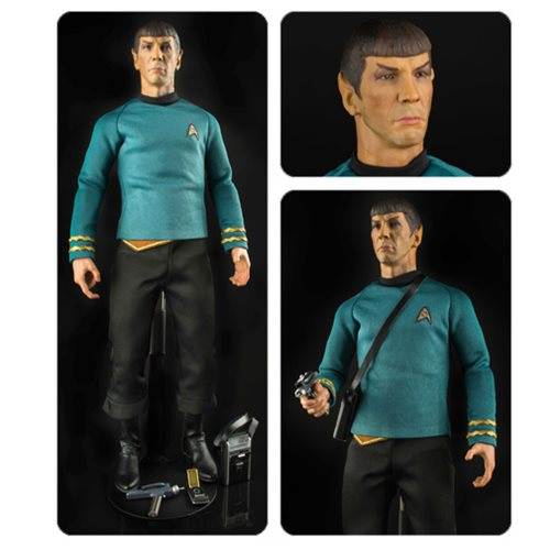 Star Trek The Original Series Spock 1 6 Scale Articulated Action Figure