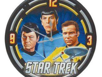 Star Trek The Original Series Starfleet Wall Clock