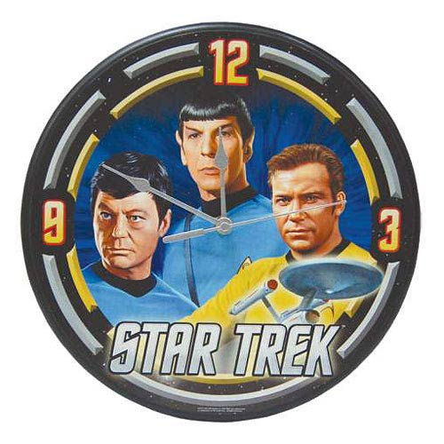 Star Trek The Original Series Starfleet Wall Clock