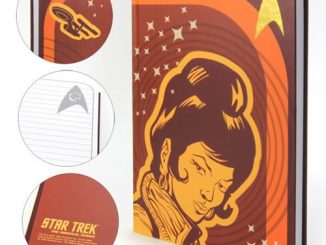 Star Trek The Original Series Uhura Journal Hardcover Faux Leather Journal