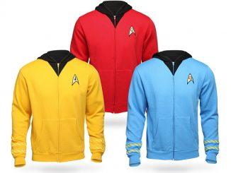 Star Trek The Original Series Uniform Hoodie