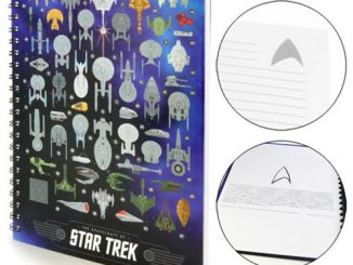 Star Trek The Spacecrafts Hardcover Notebook