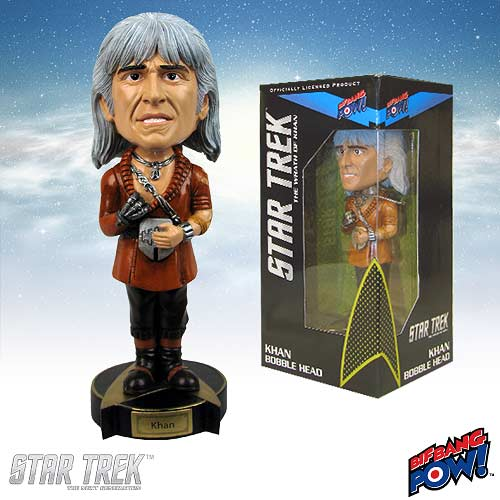 Star Trek The Wrath of Khan Khan Bobble Head