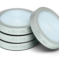 Star Trek Transporter Pad LED Coasters