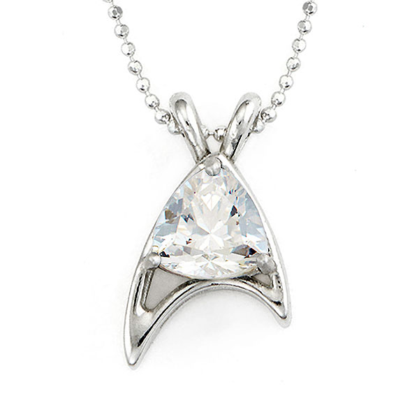 Star Trek Trillion Sterling Necklace