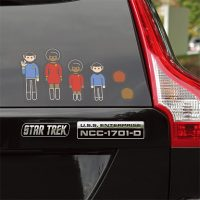 Star Trek U.S.S. Enterprise Car Emblems