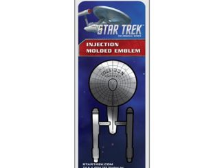 Star Trek U.S.S. Enterprise Chrome Injection-Molded Emblem