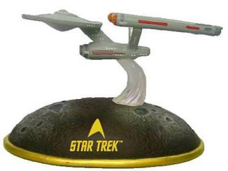 Star Trek USS Enterprise Lighted Mini Statue