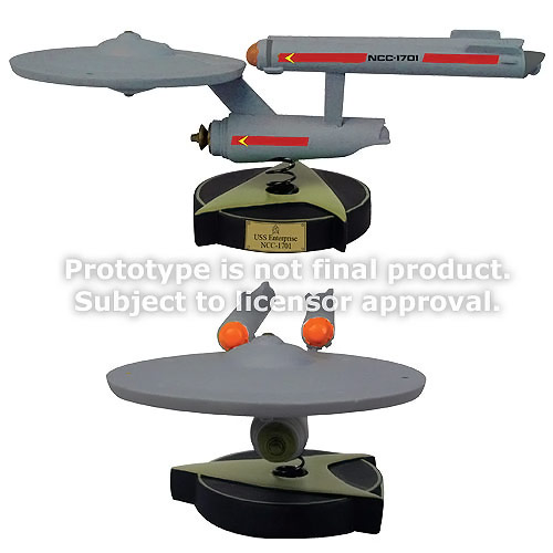 Star Trek USS Enterprise NCC 1701 Bobble Ship
