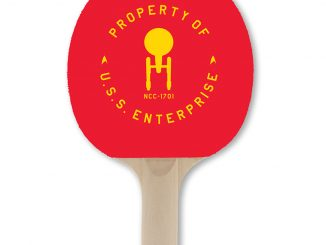 Star Trek USS Enterprise NCC-1701 Ping Pong Paddle