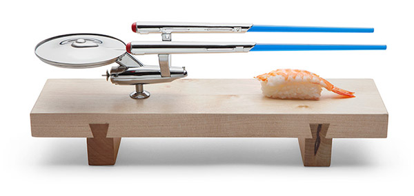 Star Trek USS Enterprise Sushi Set