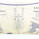 Star Trek USS Enterprise Tyvek Wallet