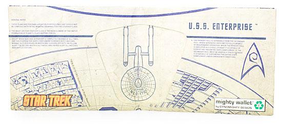 Star Trek USS Enterprise Tyvek Wallet