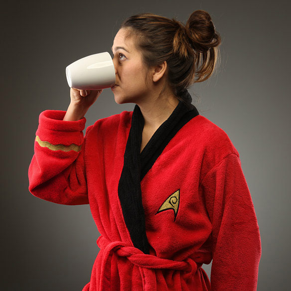 Star Trek Uhura Bathrobe