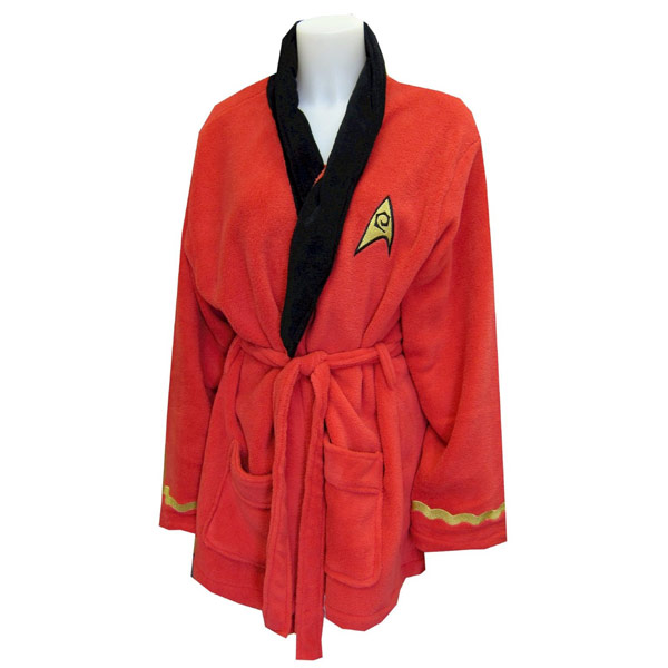 Star Trek Uhura Fleece Bathrobe