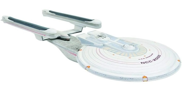 Star Trek Undiscovered Country USS Excelsior NCC 2000 Vehicle