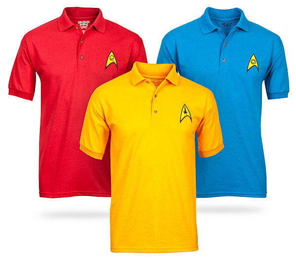 Star Trek Uniform Polos