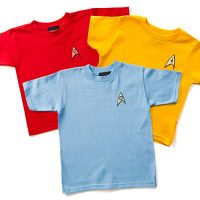 Star Trek Uniform Toddler Tees