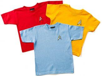 Star Trek Uniform Toddler Tees