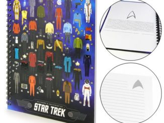 Star Trek Uniforms and Equipment Hardcover Notebook