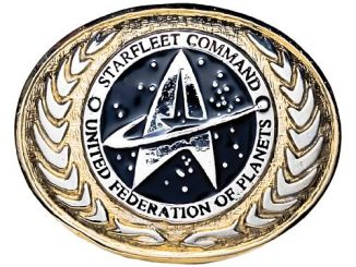 Star Trek United Federation of Planets Buckle