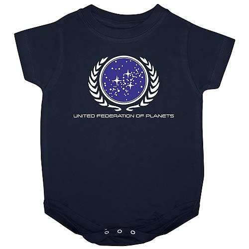Star Trek United Federation of Planets Onesie