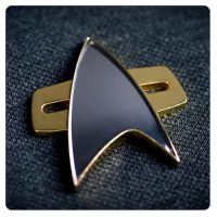 Star Trek Voyager Communicator Badge Prop Replica