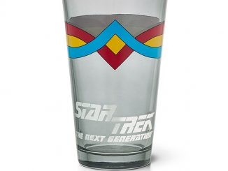 Star Trek Wesley Crusher Pint Glass