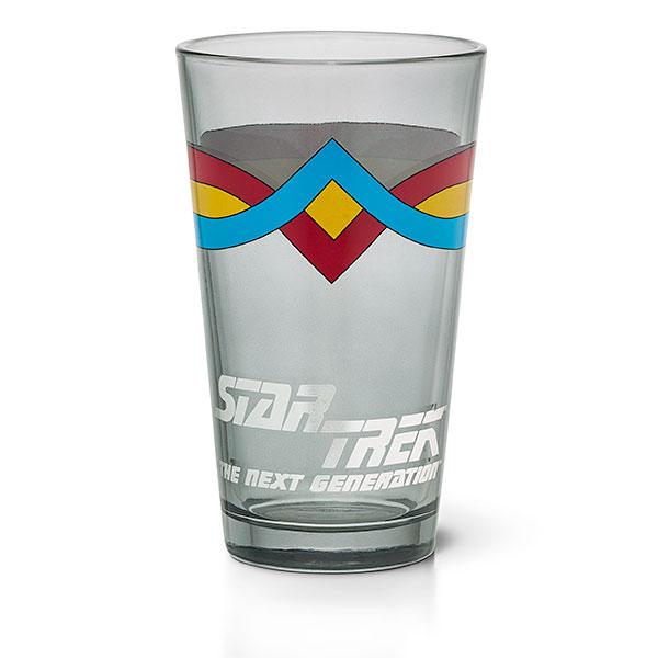 Star Trek Wesley Crusher Pint Glass