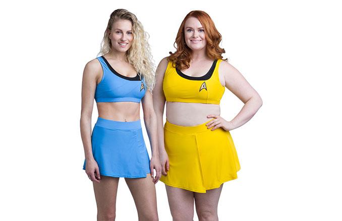 Star Trek Tos Two Piece Swimsuit