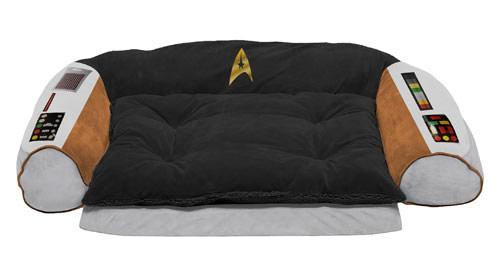 Star Treks Captains Chair Dog Bed