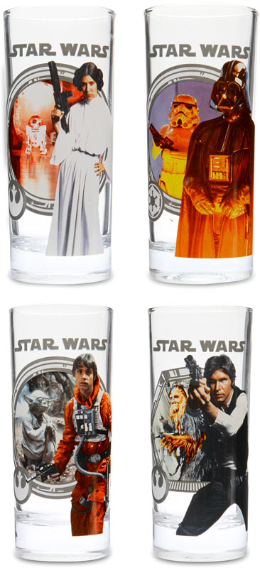 Star Wars 10 oz Glass Set