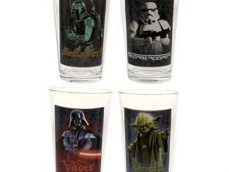 Star Wars 16-Ounce 4-Piece Glass Set