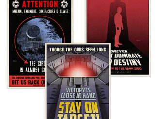 Star Wars 2016 Propaganda Postcard Set