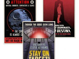 Star Wars 2016 Propaganda Postcard Set
