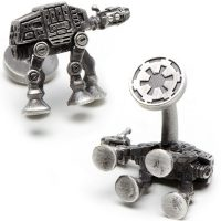 Star Wars 3-D Palladium AT-AT Walker Cufflinks