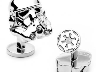 Star Wars 3-D Storm Trooper Head Cufflinks
