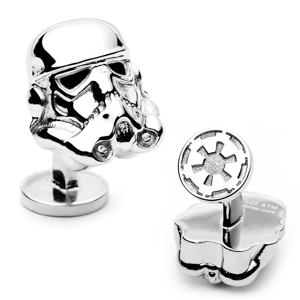 Star Wars 3-D Stormtrooper Head Cufflinks