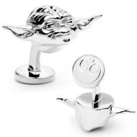 Star-Wars-3D-Yoda-Head-Cufflinks