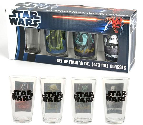Star Wars 4-Piece Glass Set